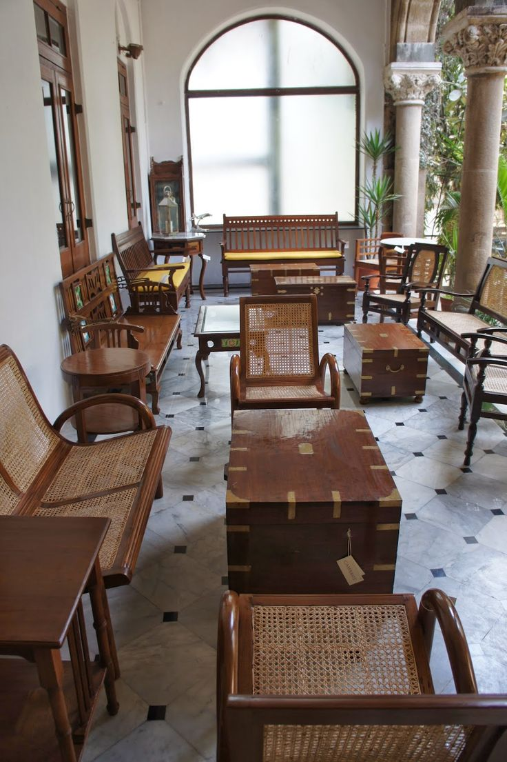 British and West Indies Colonial Furniture