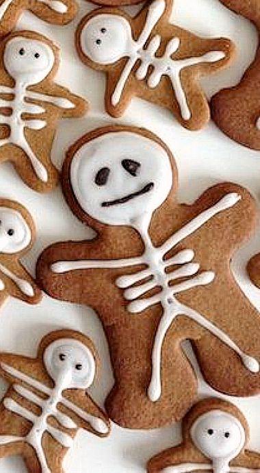Gingerbread Skeletons ❊