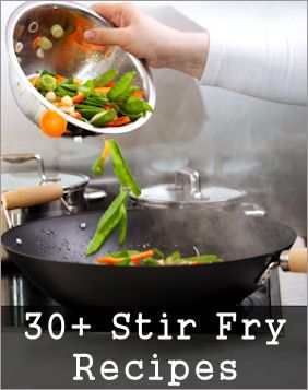 Stir Fry Recipes. I've always wondered about recipes for stir fry...