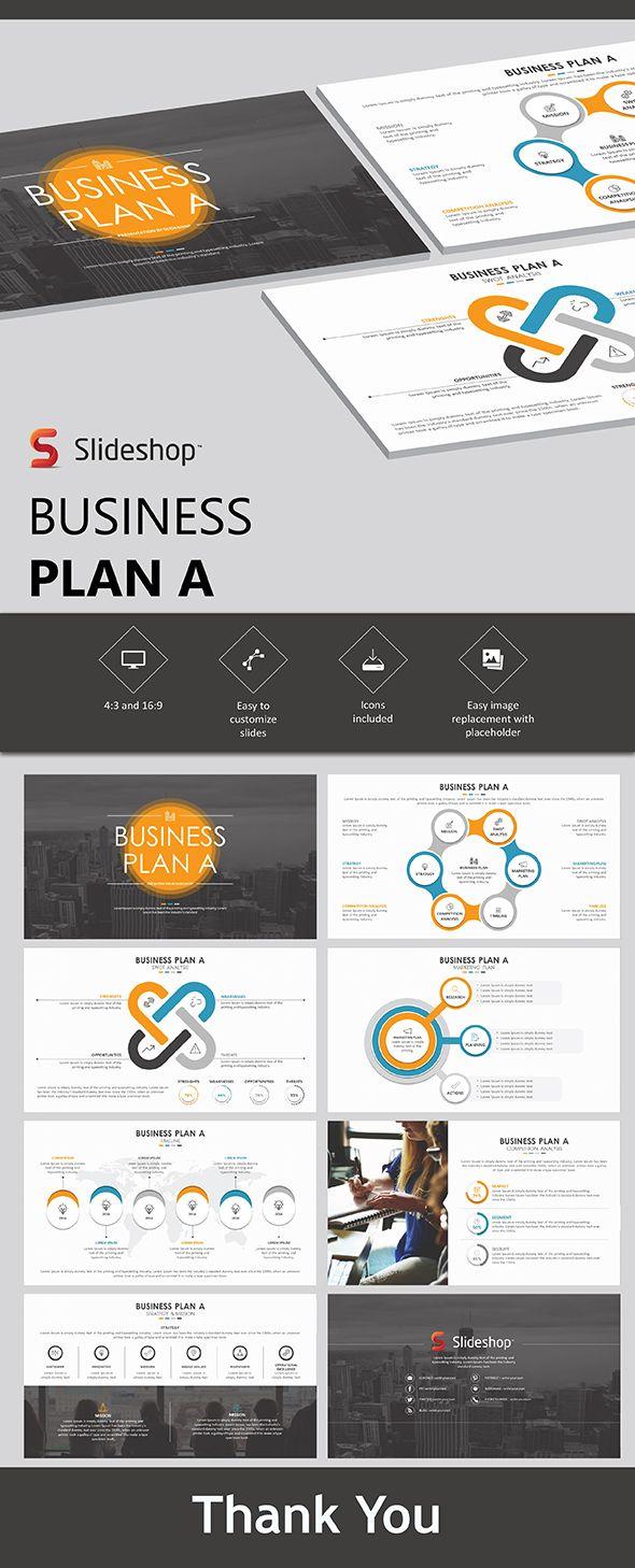 Business Plan A - PowerPoint Template