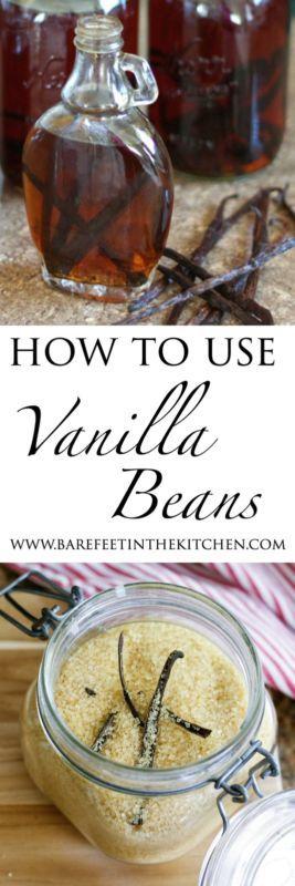 How To Use Vanilla Beans | Make your own Vanilla Extract and Vanilla Sugar!