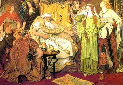Ford Madox Brown, Cordelia's Portion (1843-44)