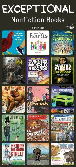 Nonfiction books for kids.