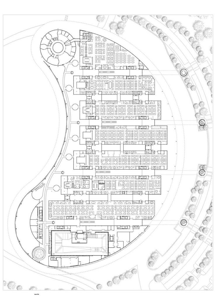 How To Plan Your Vacation Using Pinterest: Mclaren-technology Centre-2nd Floor Plan