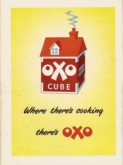 A darling 1950s OXO ad.