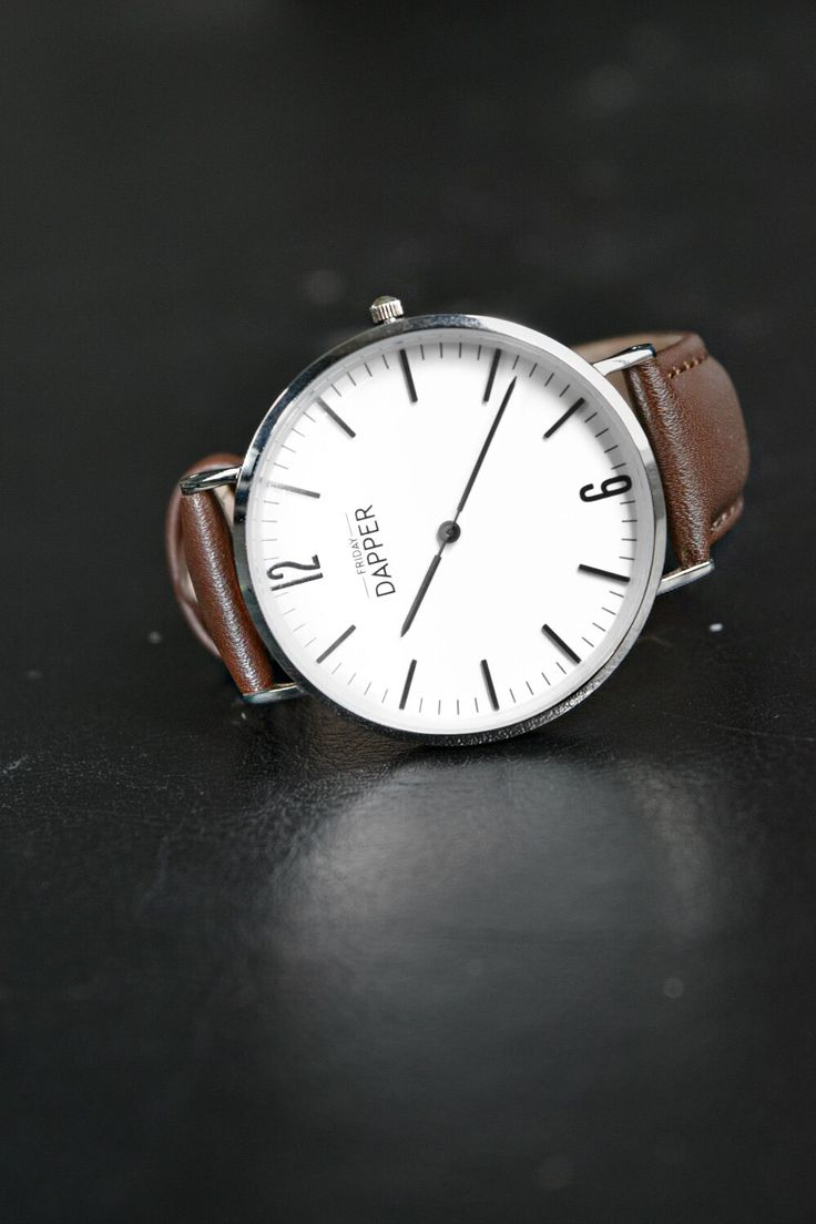 Friday Dapper watches. Simple and Classy