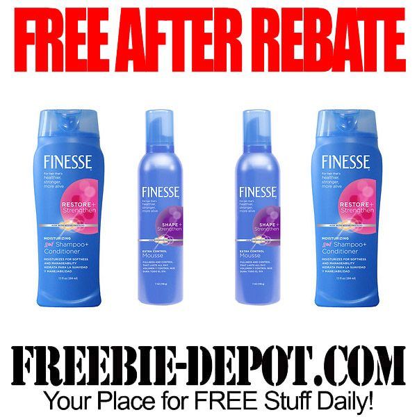 ►► FREE AFTER REBATE - 4 Finesse Shampoo, Conditioner or Stylers at Rite Aid - Exp 12/26/15 ►► #Finesse, #FreeAfterRebate, #FREEbate, #Freebie, #RiteAid ►► Freebie-Depot