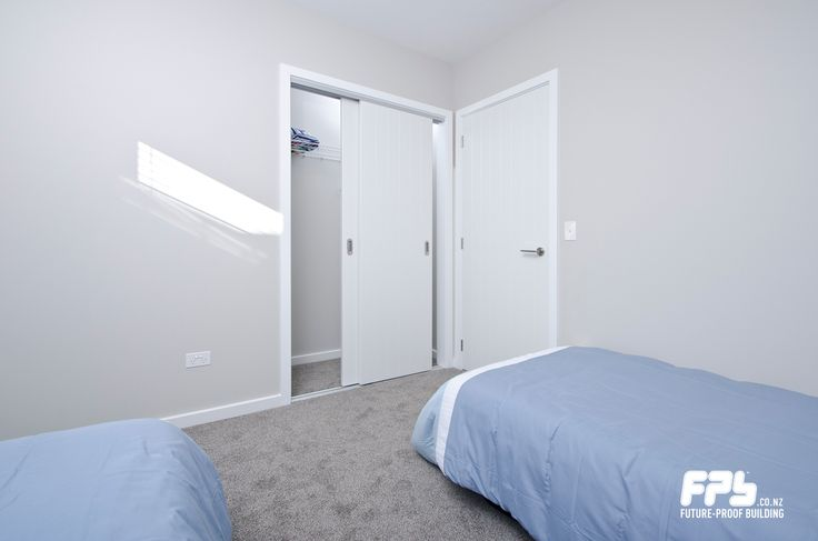 Bedroom 2 With Walls Painted In Resene Half Truffle And