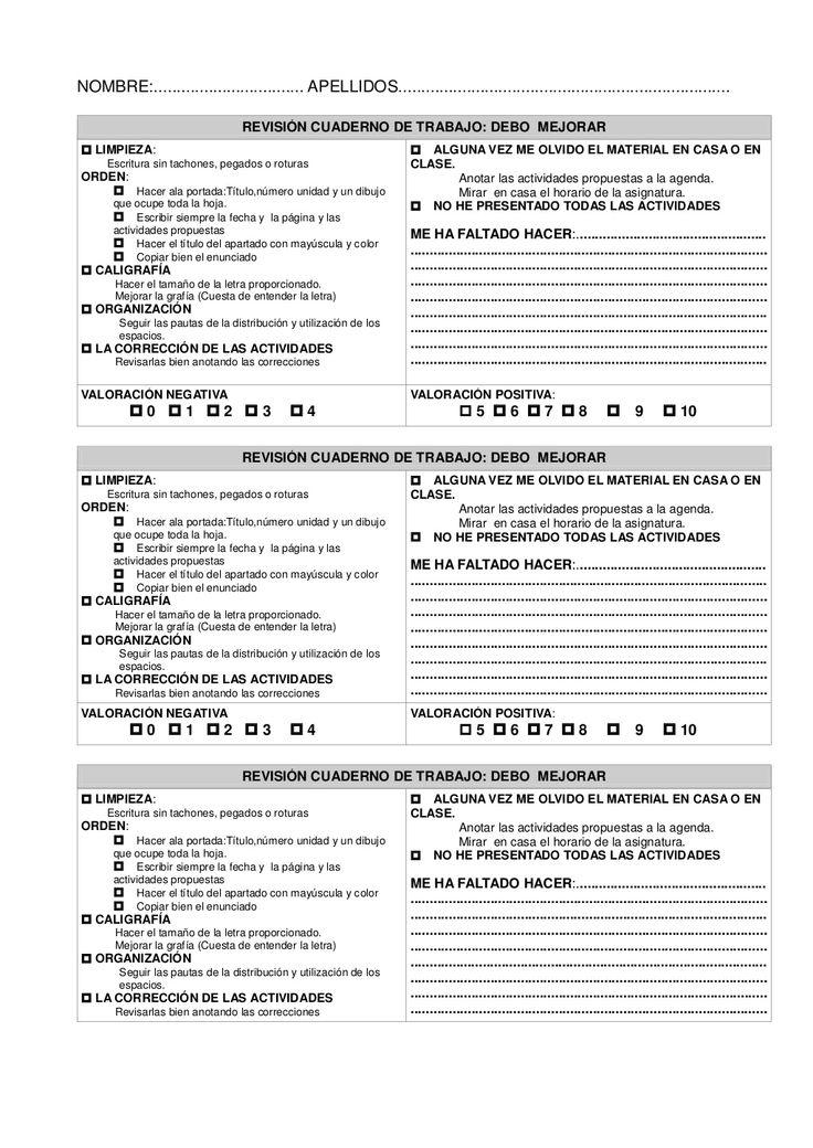 Revisión cuaderno de trabajo castellano by Pilar GMor via slideshare