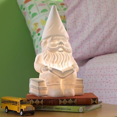 @Julie Becerra thought of you ;): Gnome Nightlight, Gnome Lamp, Night Lights, Lamp Nightlight, Gnome Light, Kids, Gnomes, Land Of Nod
