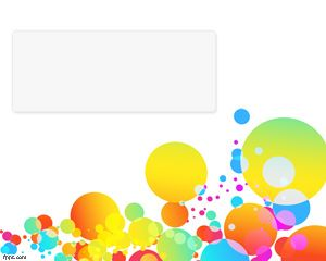 Color Bubbles PowerPoint Template is a funny template with bubbles and colors over a white background