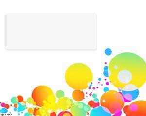 Plantillas de PowerPoint con colores y burbujas para descargar gratis para presentaciones de Microsoft PowerPoint
