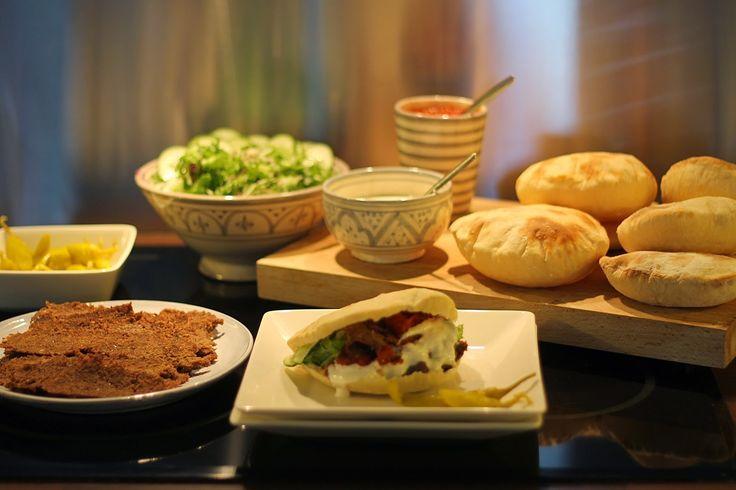 At Maria's: Ruokavinkki viikonlopulle: kotona tehty kebab