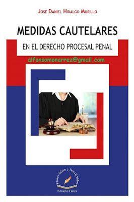 LIBROS EN DERECHO: MEDIDAS CAUTELARES EN EL DERECHO PROCESAL PENAL