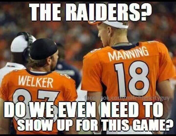 Peyton Manning and Wes Welker... Go Broncos!!