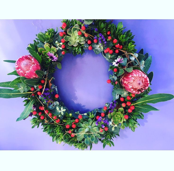 Table centerpiece - or wreath by Bettie bee blooms