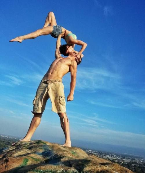 fitness motivation, although i dont have a significant other, and i'm terrified of cliffs. But yeah.