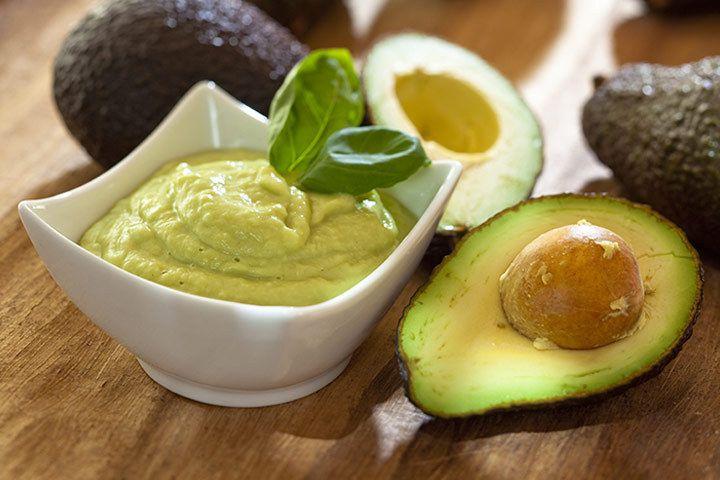 Соус из авокадо со сливками