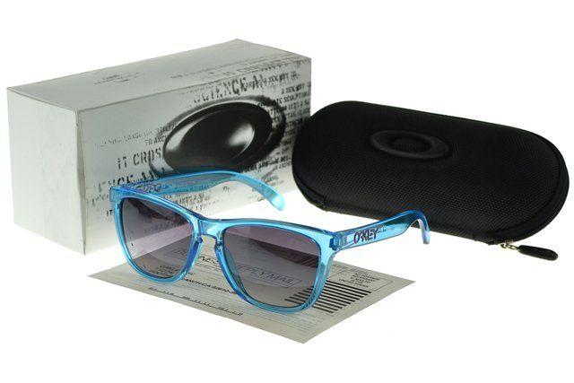 Buy Cheap Oakley Frogskin Sunglasses blue Frame purple Lens#Oakley Sunglasses
