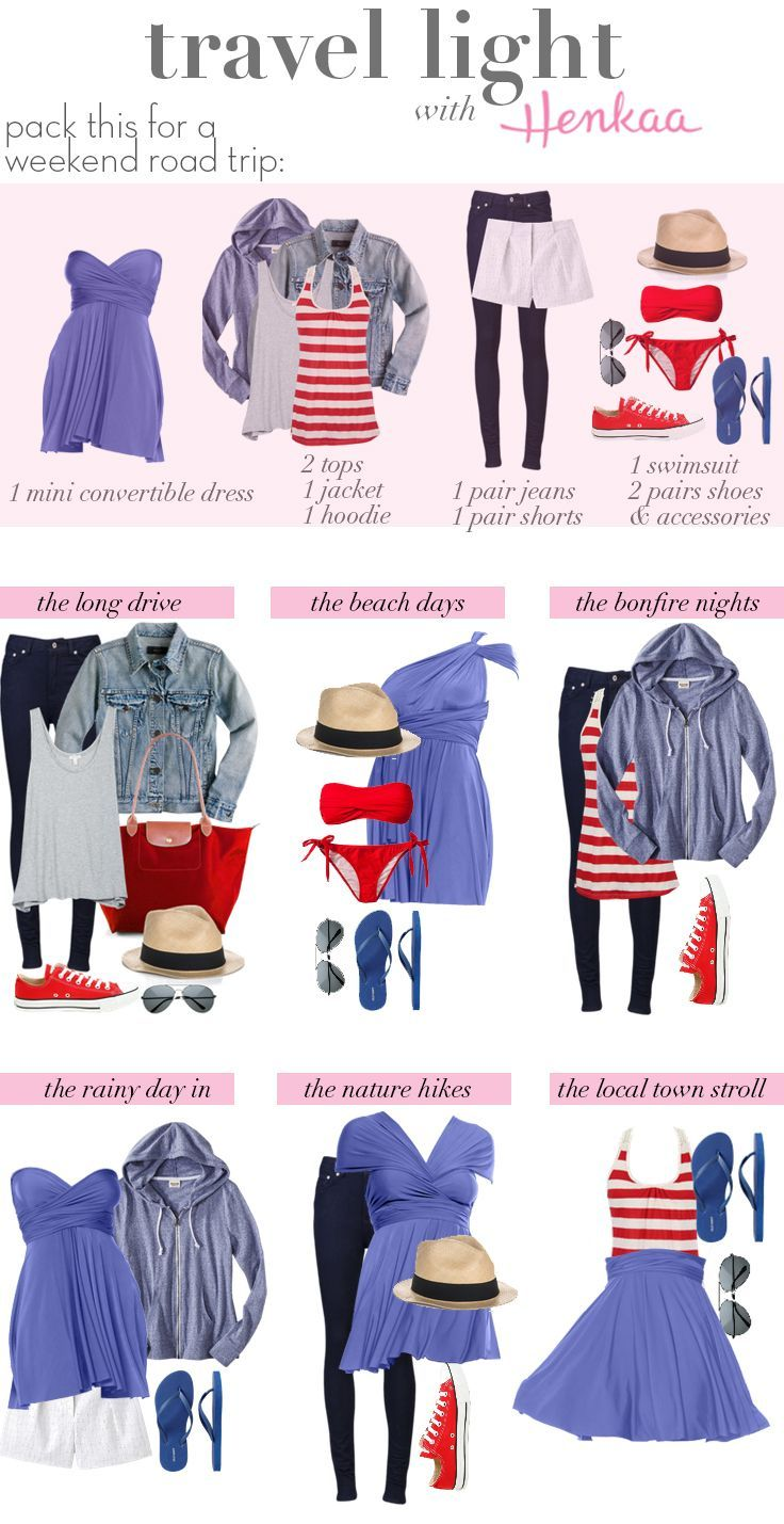 travel outfits - love how it all coordinates!