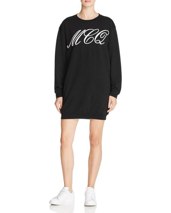 McQ Alexander McQueen Classic Sweat Dress