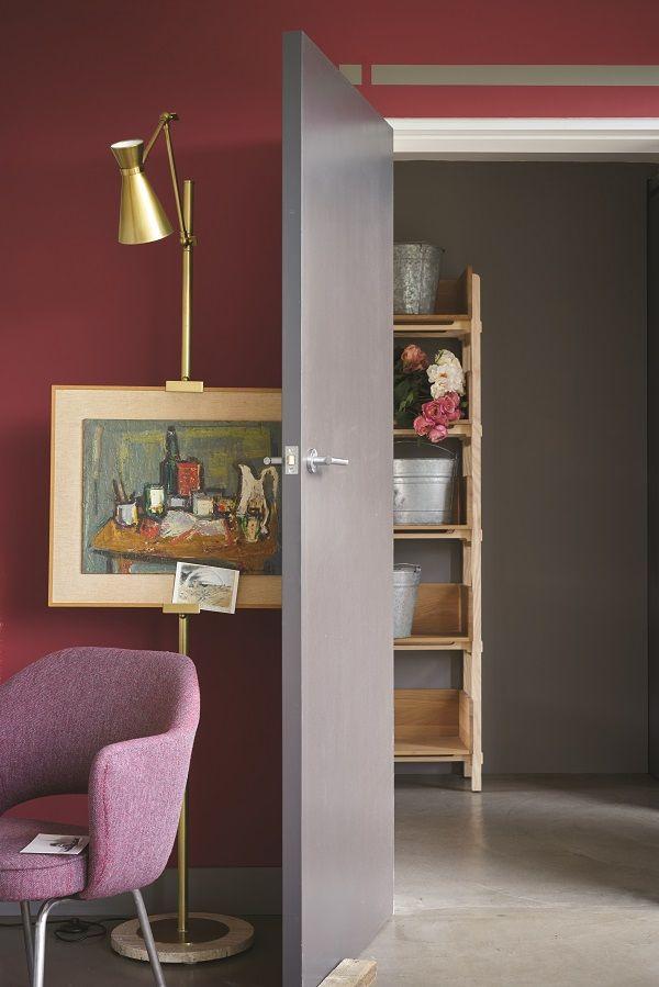 Key paint colours for spring - radicchio