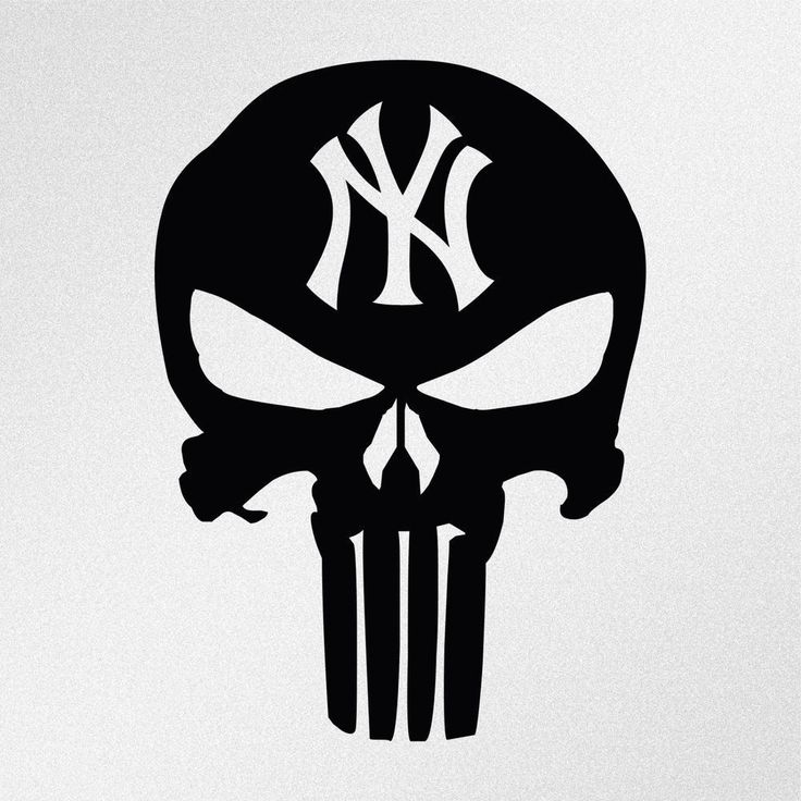 New york vinyl sticker decal graphic statue of liberty brooklyn yankees skull