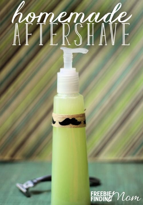 Pamper your man with this easy to make homemade aftershave. With just three simple steps your guy will be able to lather his face with a moisturizing, soothing aftershave that will also help prevent acne flare-ups, tighten pores, and improve the overall appearance of the skin. You may very well find yourself dipping into his stash for your own freshly shaven legs.