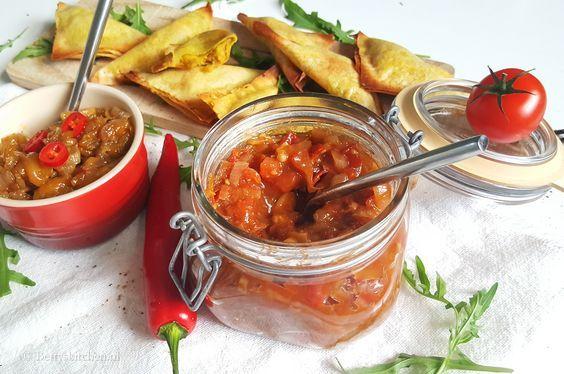 Zelf Mango Chutney & Tomaten Chutney maken | Recept | Betty's Kitchen