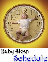 Advice on baby sleep schedules by age
