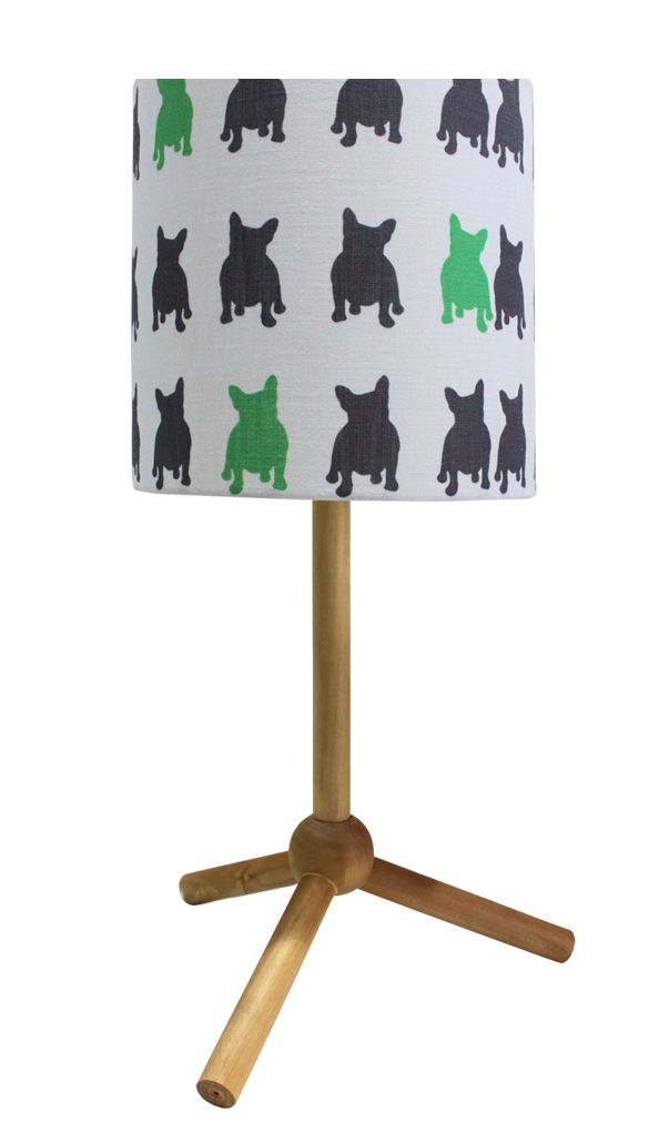 Frenchie and Friends Lampshade http://www.ellaandsofia.com/frenchie-and-friends-lamp-shade/ #KidsInteriors #KidsRooms #KidsDecor #ChuChuandMissy