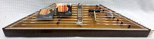 Persian Santoor, Santur, Dulcimer with Hard Case  Instrument: 9 Kharak Sadeghi Char-Khat Santoor  9 Kharak Sadeghi Char-Khat Santoor Name: Santoor, Santur, Santour, Santoori, Hammered Dulcimer  Tuning: G-Scale 90 * 26.5 * 7 cm  Net Weight: 2.90 kg (2.80 ~ 3.10 kg)  Weight with Hard Case: 7.30 kg (7.10~7.50 kg)