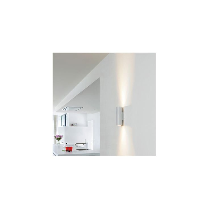 Intalite 151801 White Enola-B Up-Down Wall Light