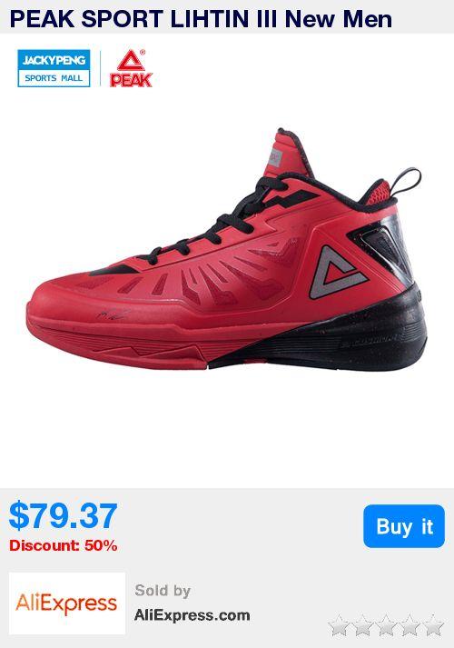 PEAK SPORT LIHTIN III New Men Basketball Shoes Star Series Boots FOOTHOLD  Cushion-3 Tech