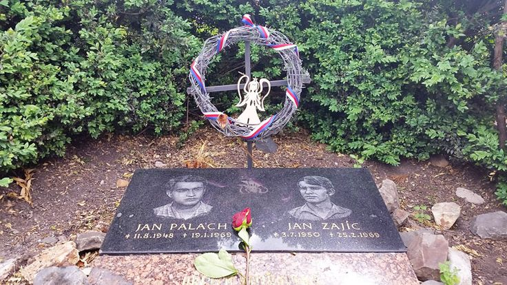 On Wenceslas Square 30 metres down from the horse is the plaque to Jan Palach and Jan Zajic who both self-immolated in 1969.