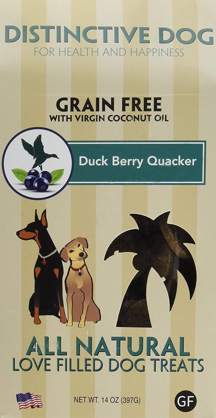 Distinctive dog duck berry quacker dog treats 14ounce