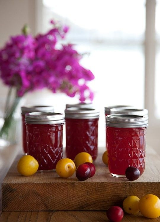 Wild plum jam from  The Kitchn