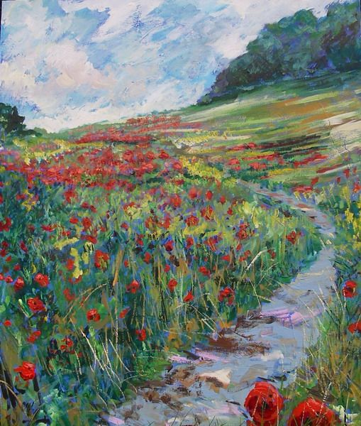 Timmy Mallett - Interests - Painting - Poppies 9