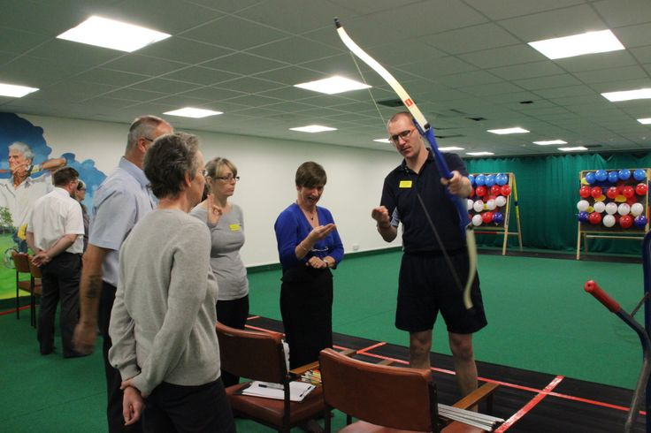 Blind Veterans Archery Club. For more information on our clubs and societies visit the following link. http://www.blindveterans.org.uk/how-we-help/how-we-support-blind-veterans/clubs-and-societies/ #archery, #blindveterans http://www.blindveterans.org.uk/