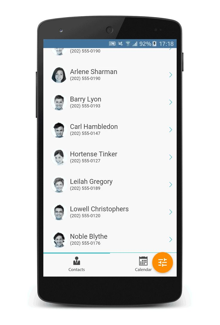 Manage your contacts with this Master-Detail View http://demo.mobiscroll.com/crm#theme=mobiscroll
