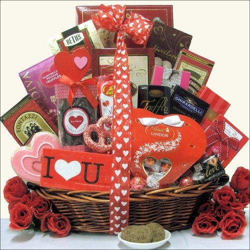Sweet Devotion ~ Extra Large Valentine's Day Chocolate & Sweets Gift Basket, What a fantastic way to express your love - chocolate and sweets! This delicious sweets basket features a wide assortment of gourmet chocolates, cookies and candies. Valentine Gift bag filled with chocolate assortments,...  http://holiday-unique-gift-ideas.blogspot.com/2013/12/holiday-gift-baskets-best-holiday-gifts.html  #Holiday_Gift_Baskets #Holiday_Gift_Ideas #Holiday #Gift
