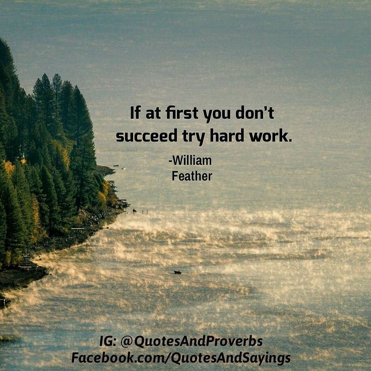 If at first you dont succeed try hard work. -William Feather  #quotes #sayings #proverbs #thoughtoftheday #quoteoftheday #motivational #inspirational #inspire #motivate #quote #goals #determination #quotesandproverbs #motivationalquotes #inspirationalquotes Read more http://ift.tt/2i2uzC6