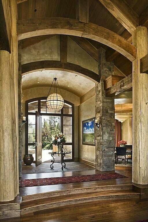 Beautiful entryways cozy home inspiration pinterest for Beautiful foyer pictures