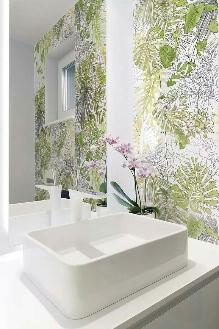 Jungle Theme Bathroom | Home and Garden
