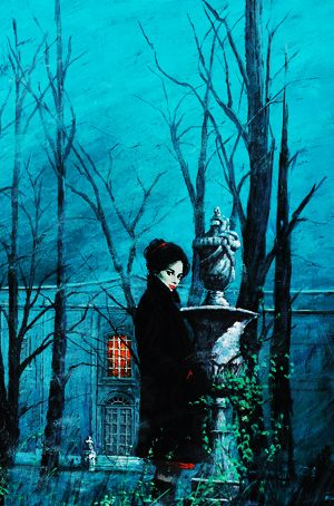 Haunted Houses Pulp Art c. 1960's-1970's. Love love love everything about this! Sinister and gorgeous.