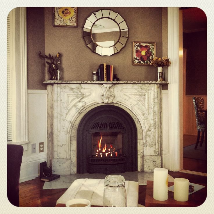 Master Bedroom Ideas Husband & I Refinished The Fireplace This Weekend! Love