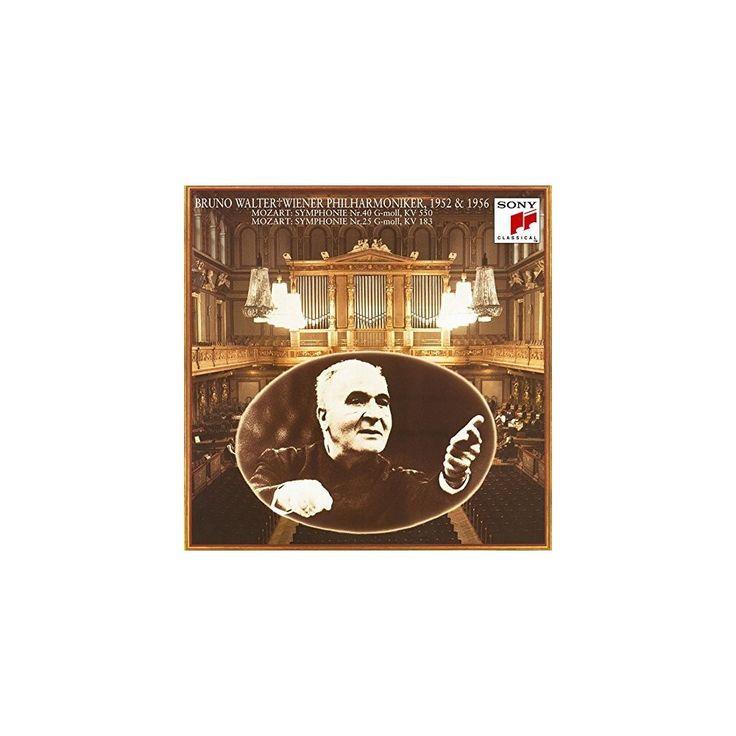 Mozart & Bruno Walter - Mozart: Symphonies 40 & 25 (CD)