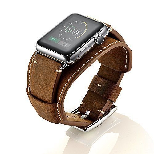 Watch Band For Apple Watch Genuine Leather iWatch Vintage Retro Strap 42mm   #WatchBand