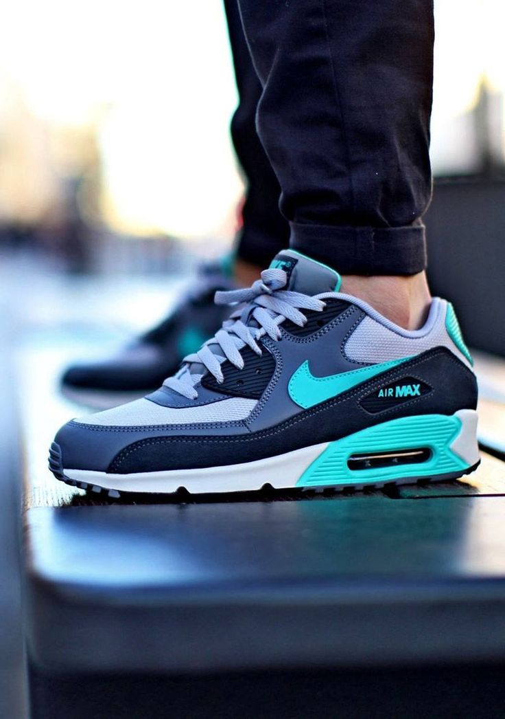 Nike Air Max 90 Essential Wolf Grey Hyper Jade White