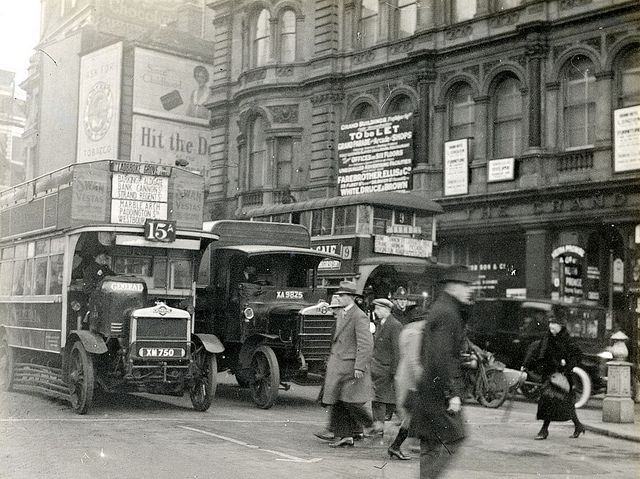 Buses in London 1927 | Flickr - Photo Sharing!
